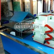 灯泡贯流式水轮发电机组模型