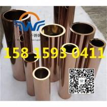 304/201玫瑰金不锈钢圆管52*3.0厂家现货批发报价