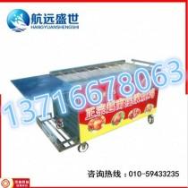 越南木炭烤鸡鸭炉|六排摇滚烤鸡腿车|自动摇摆烤兔子机器