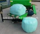 保鲜打捆包膜机饲料秸秆打捆包膜机 便于储存牧草打捆裹包一体机