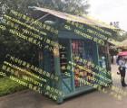 七彩云南商业街贩卖花车户外移动售货亭景区酒桶售货车