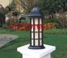 304不锈钢柱头灯|激光焊接打磨石柱灯|户外云石灯具景观产品