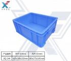 华强北电子产业专用的塑胶周转箱 改良抗冲击 底部加固胶箱