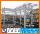 苏州葡萄架 苏州庭院 别墅PVc塑钢白色欧式葡萄架 龙桥护栏