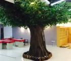 北京专业定做仿真树出售仿真树桃花树棕榆树仿真树租赁