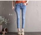 山西晋中库存女装尾货牛仔裤哪里有便宜低价女装牛仔裤批发