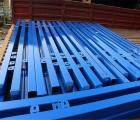 蓝白组装护栏@组装锌钢护栏厂家@南京销售