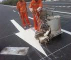 中山路面标线划线 江门人行斑马线重划 个方向箭头承接工程