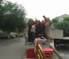 重庆沙坪坝区虎溪镇搬家公司 公司搬家 办公家具拆装 家具搬运