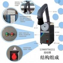 山焊接烟尘粉尘处理器,车间电焊烟尘净化器,车间电焊粉尘处理机图片