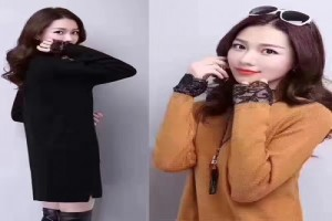 大量秋冬新款男女服装批发,各种时尚韩版纯棉卫衣连衣裙批发