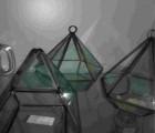 生产厂家直供蜡烛玻璃杯和家居盆景摆件玻璃挂件