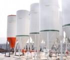 厂家直销干混砂浆设备 干粉砂浆罐 干粉砂浆储料罐