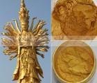 墙壁油漆涂料用默克黄金粉 佛像雕塑描金用金箔粉