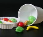 可以微波冷藏pp999塑料打包碗