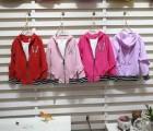 韩版女童纽扣开衫外套批发便宜秋冬童装货源批发儿童夹克开衫外套