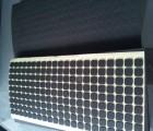 黑色圆形EVA双面胶贴 3M胶加厚EVA防滑减震胶贴