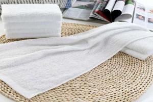 一次性毛巾白毛巾厂家生产厂家 洗浴酒店温泉会所毛巾批发