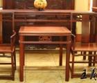 厂家直销红木中堂老挝大红酸枝中堂王义红木中堂家具