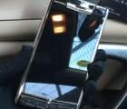 vertu touch银黑鳄鱼皮 宾利限量版手机 黑金小牛皮