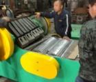 重型pvc板材管材大板粉碎机环保、高产