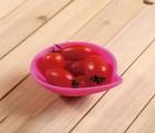 水果小吃碟 硅胶酱料碟 小吃调味碟 硅胶碟