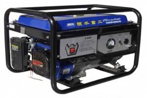 勉县快速维修发电机2KW家用必备单相汽油发电机组