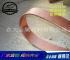 T2扁红铜线 拉链紫铜扁线 环保C1100纯铜扁线