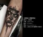 纹身_纹之勇刺青店_柳巷满背带背景纹身