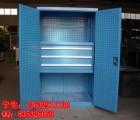 带挂板移动工具柜 车间工具储存柜 修理车间机械厂维修工具柜