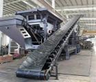年产万吨的轮胎式破碎机六盘水 兴义液压驱动轮胎式移动破