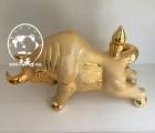 出售中国牛牛气冲天陶瓷酒瓶5斤定制批发礼盒景德镇陶瓷酒瓶