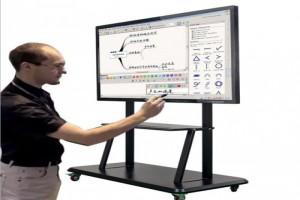 鑫飞触控一体机壁挂智能多媒体幼儿园教学会议安卓/八核红外触控