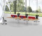 炫办公家具厂家直销新款开放式工作位 开放式办公桌 员工办公台