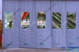 天津宝坻区供应商场棉门帘帆布棉门帘天津批发优质棉门质量可靠