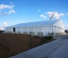 厂家优惠价直销缅甸25MX100M大型活动展览帐篷房 好产品质保6年