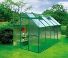PC阳光板花房 铝合金温室花房 农业养殖保温大棚