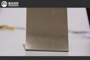 乱纹镀香槟金不锈钢板丨304不锈钢装饰板丨316黑香槟金乱纹