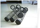 宏瑞除尘骨架圆袋型框架除尘龙骨袋笼型号齐全优质碳丝焊接可定制