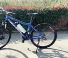 折叠电动车自行车 锂电池助力山地车男女式成人