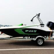 厂家直销全新7座高速快艇休闲刺激滑水艇运动快艇