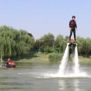 水上飞人飞行器海天飞龙脚踩式飞行器景区表演