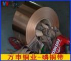 C5210高精磷铜弹片 环保高弹性磷铜带 压簧专用磷铜带