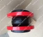 恒众耐高温耐压力橡胶软接头, 聚四氟乙烯橡胶软连接