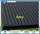 青岛橡胶地垫厂家广能供应防滑保温隔凉橡胶垫猪舍垫,保育栏垫