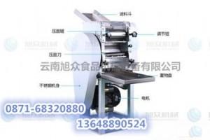 SZ-70压面面条机  小型压面面条机  昆明压面面条机