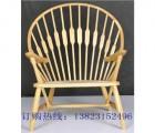 实木餐椅 橡胶木餐椅 西餐厅围椅 设计师配套工程椅子