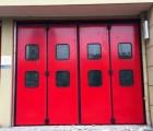 供应工业折叠大门 消防折叠门