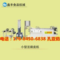 周口仿手工豆腐皮机器的价格 仿手工豆腐皮机械