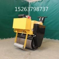 手扶式汽油压路机厂家直供 小型双轮压路机 双钢轮压路机型号